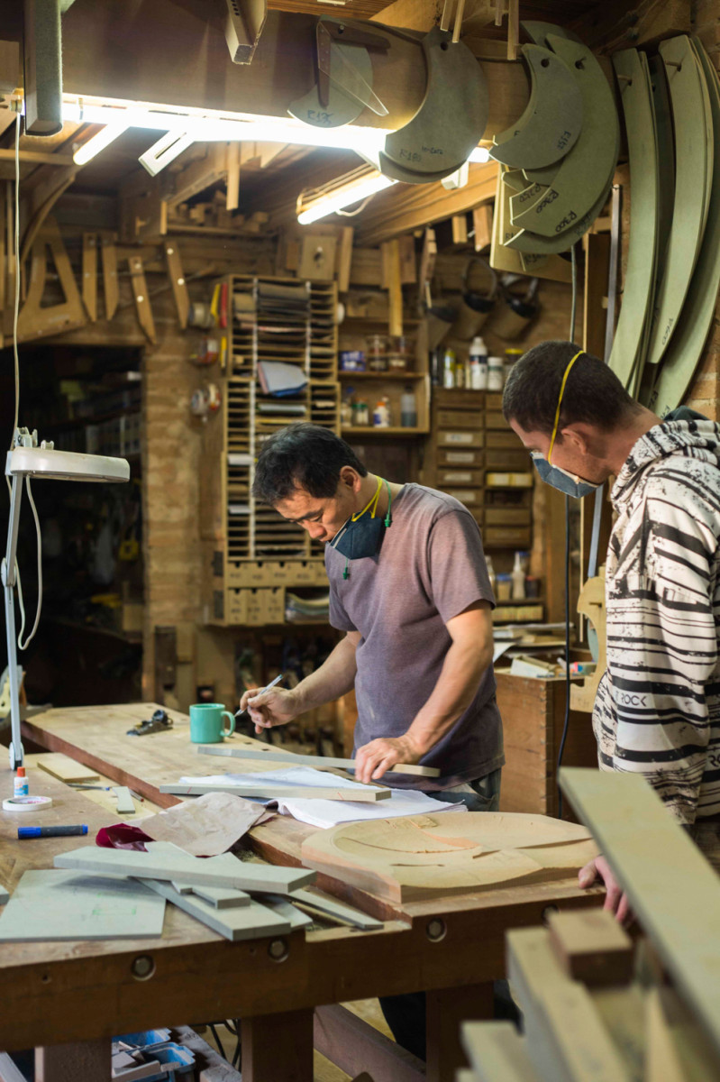 Where Japan Meets Brazil Woodworker Morito Ebine Transplants