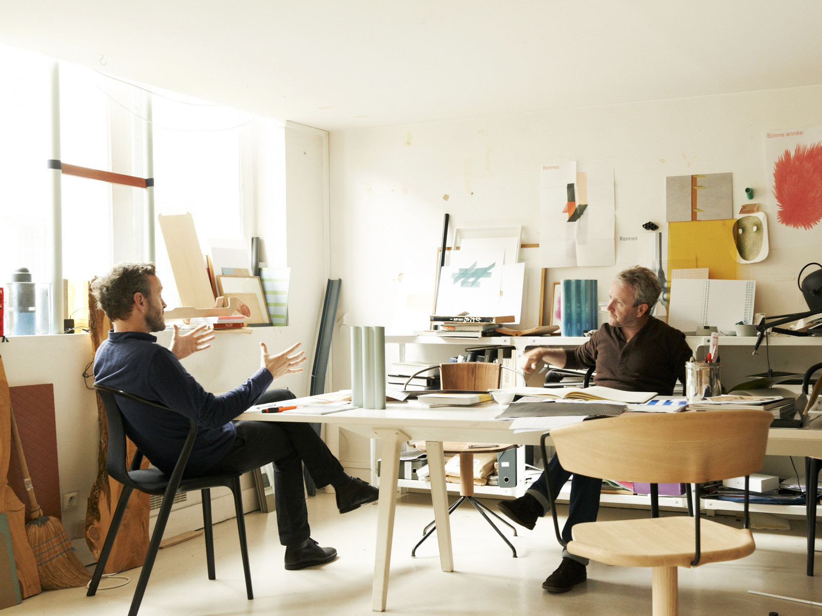 Ronan & Erwan Bouroullec a discreet charm: the first family of french product design