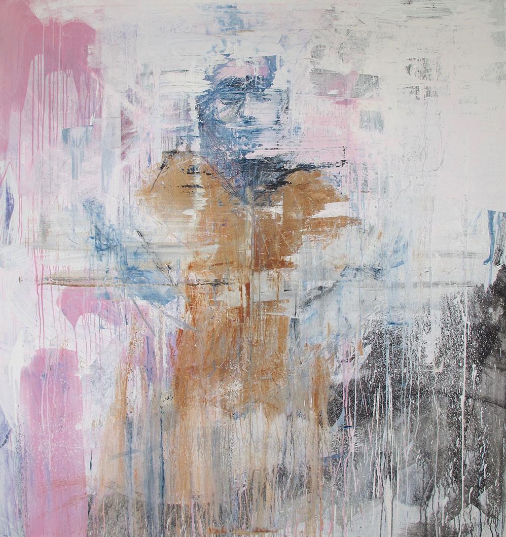 """untitled"" 180 x 175cm, acrylic on canvas (2015)"