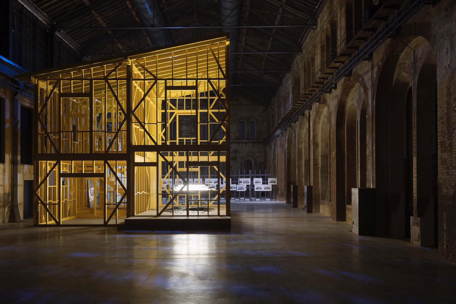 (EN) As Walls Keep Shifting, Installation view OGR Torino © Monica Bonvicini and VG-Bild Kunst  Photo: Andrea Rossetti