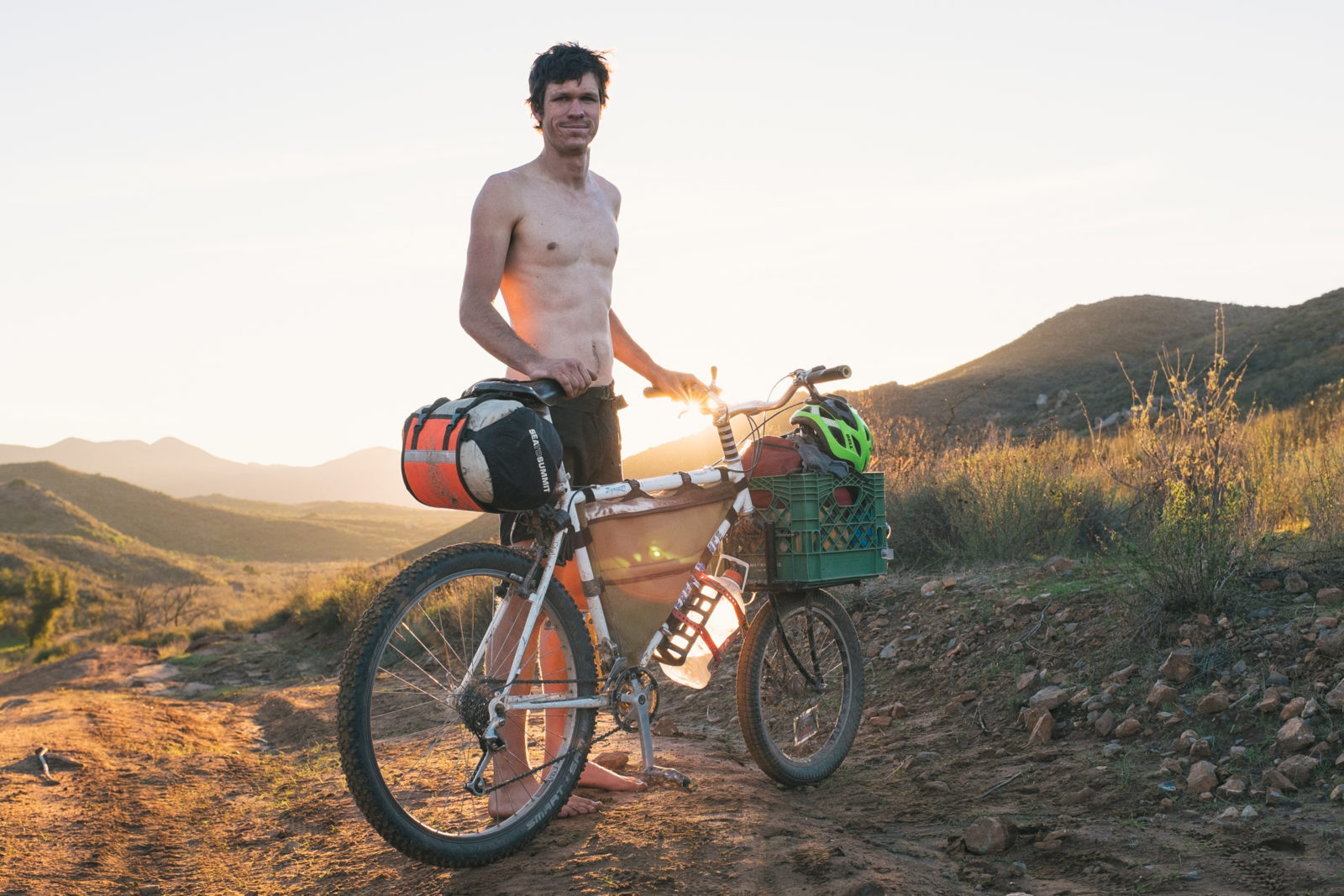 A mountain bike tour along the Baja California Coast — Freunde von