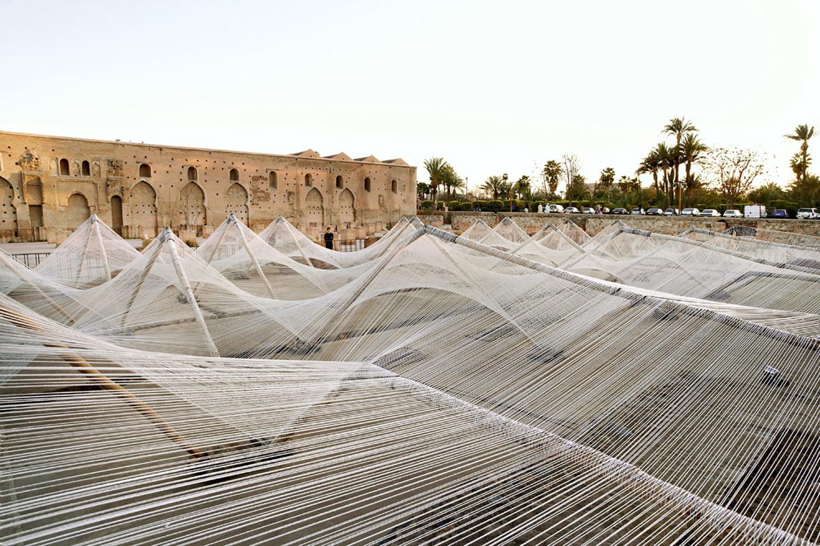 (EN) Loom Hyperbolic, Marrakech Biennale 2012