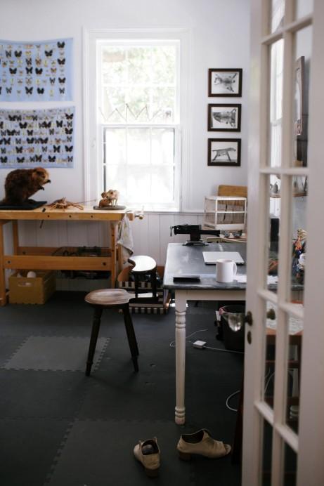 Freunde von Freunden — Becca Barnet — Taxidermist and Artist, House, Charleston — http://www.freundevonfreunden.com/interviews/becca-barnet/