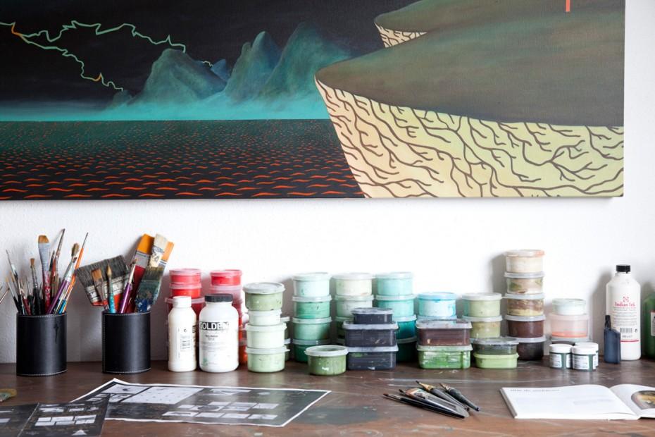 Freunde von Freunden — (English) Bruno Novelli — Artist, Apartment, Paulista Avenue-São Paulo —