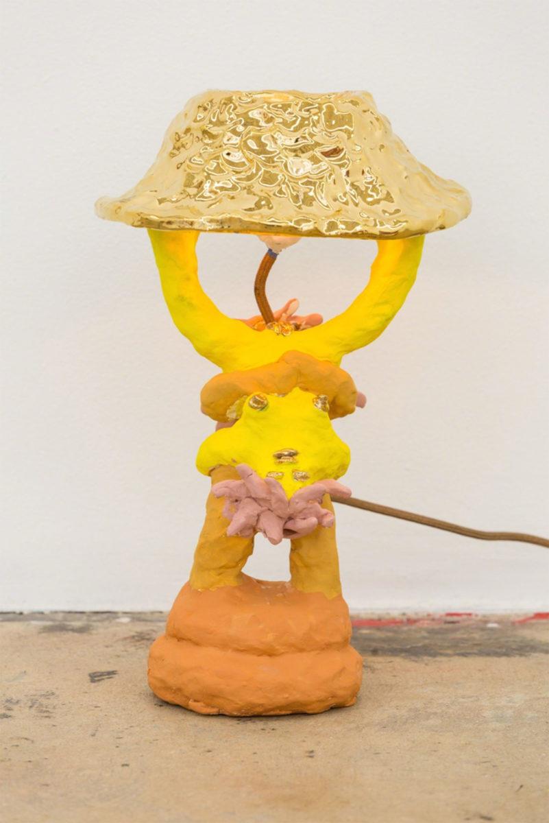 (EN) Shady Lady Lamp (Double), 2017 Ceramic, resin | Nina Johnson, Miami