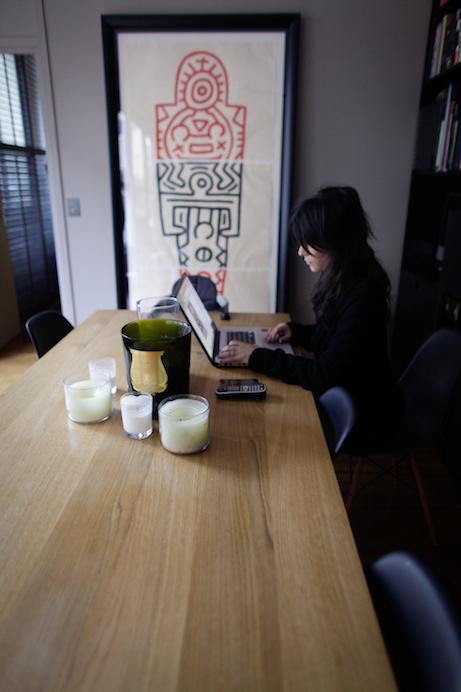 Freunde von Freunden — Claire Safronoff — Agency owner, Apartment, 9ème arrondissement, Paris — http://www.freundevonfreunden.com/fr/interviews/claire-safronoff/