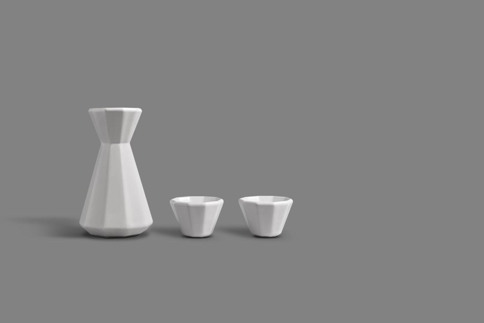 Lilium Carafe & Cup Set designed for OTHR