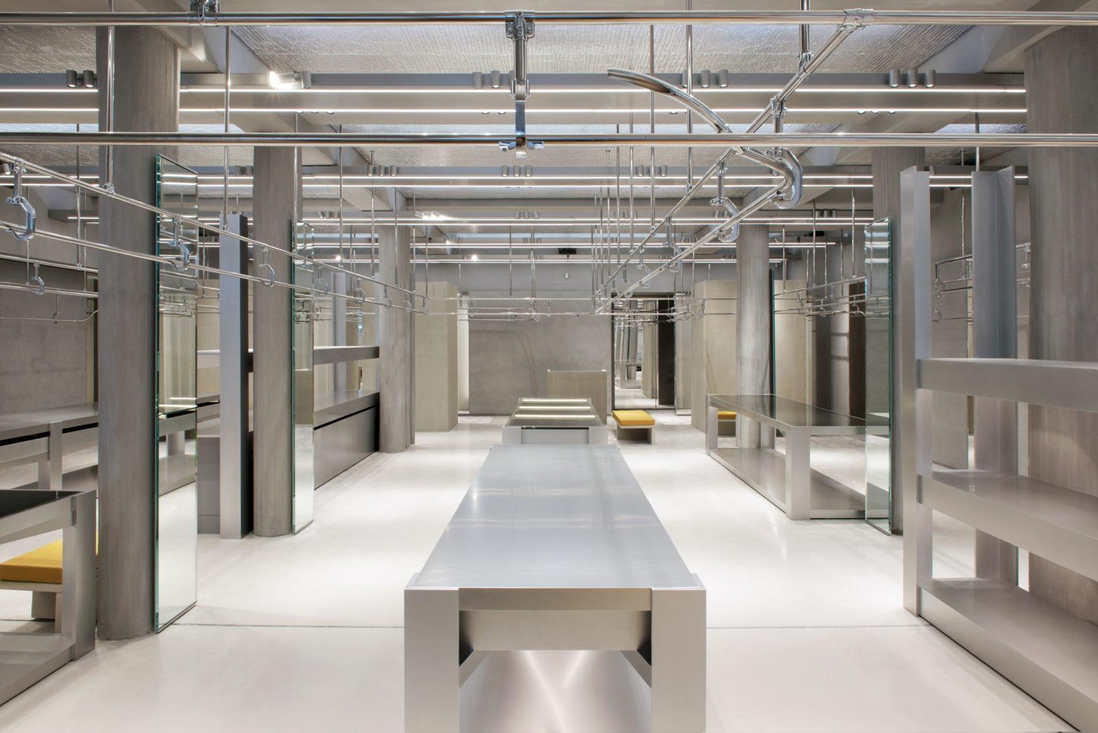 Balenciaga Store Design, Paris, 2017