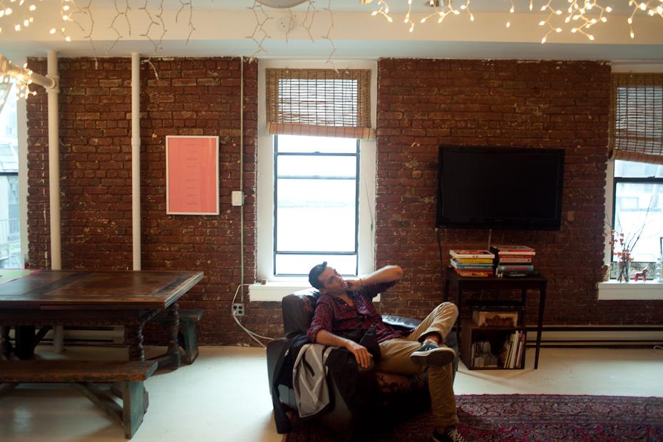 Freunde von Freunden — (English) Colin Tunstall (Saturdays) — Creative Director, Apartment and Shop, SoHo, New York City —