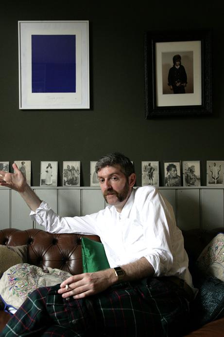 Freunde von Freunden — (English) Conor Donlon — Bookshop Owner, Shop and apartment, London-Hackney —
