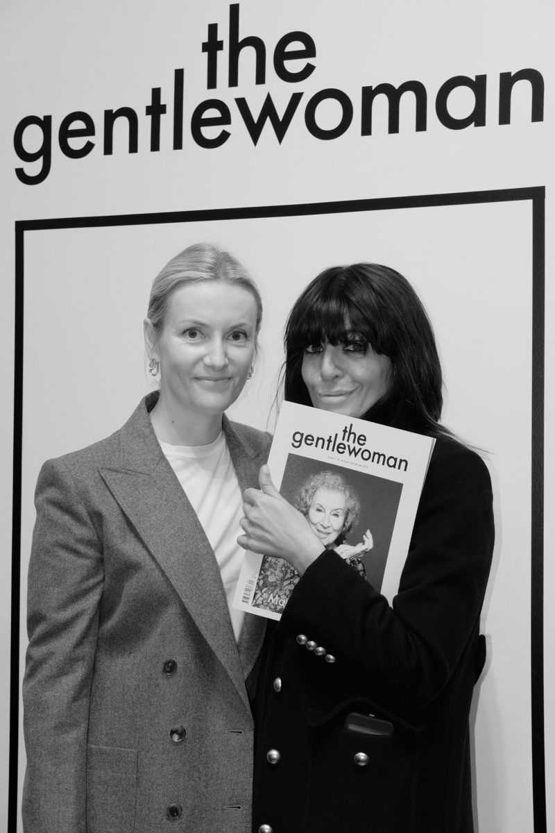 (EN) Penny Martin and presenter Claudia Winkelman.
