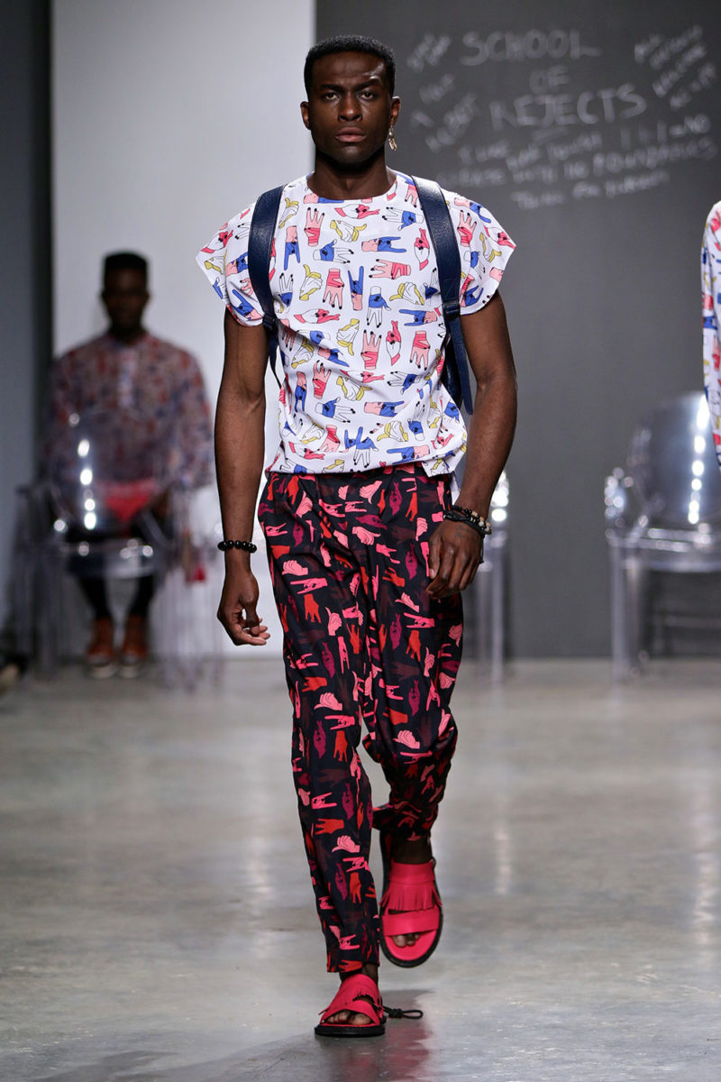 School of Rejects collection Orange Culture (Nigeria), SS2017