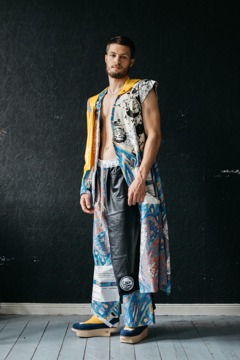 Don Aretino Explores His Queer Islamic Identity Through His Avant Garde Fashion Collections Friends Of Friends Freunde Von Freunden