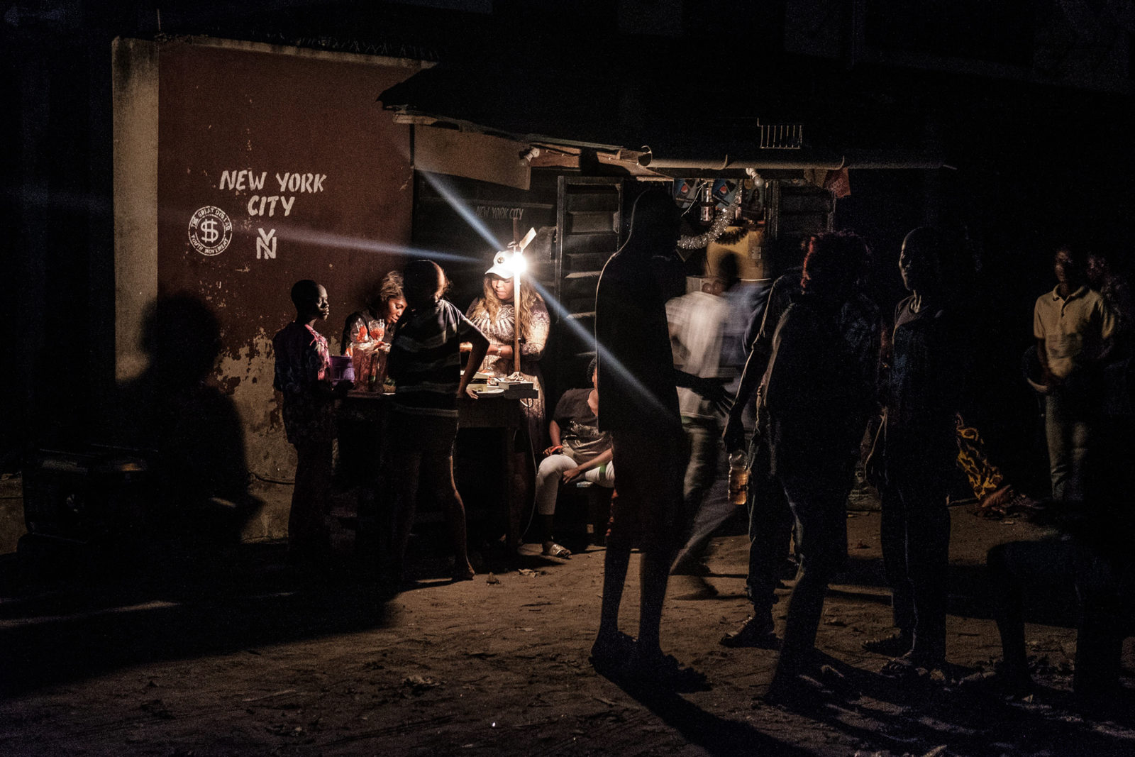 (EN) New York in Bariga, from the 2018 series 'Bariga Nights'