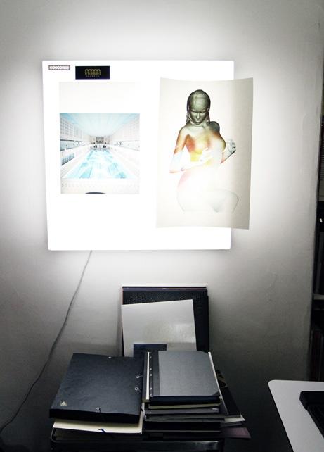 "Freunde von Freunden — Etienne ""Akroe"" Bardelli — Graphic Designer, Studio, Strasbourg Saint Denis, Paris — http://www.freundevonfreunden.com/workplaces/etienne-akroe-bardelli-2/"