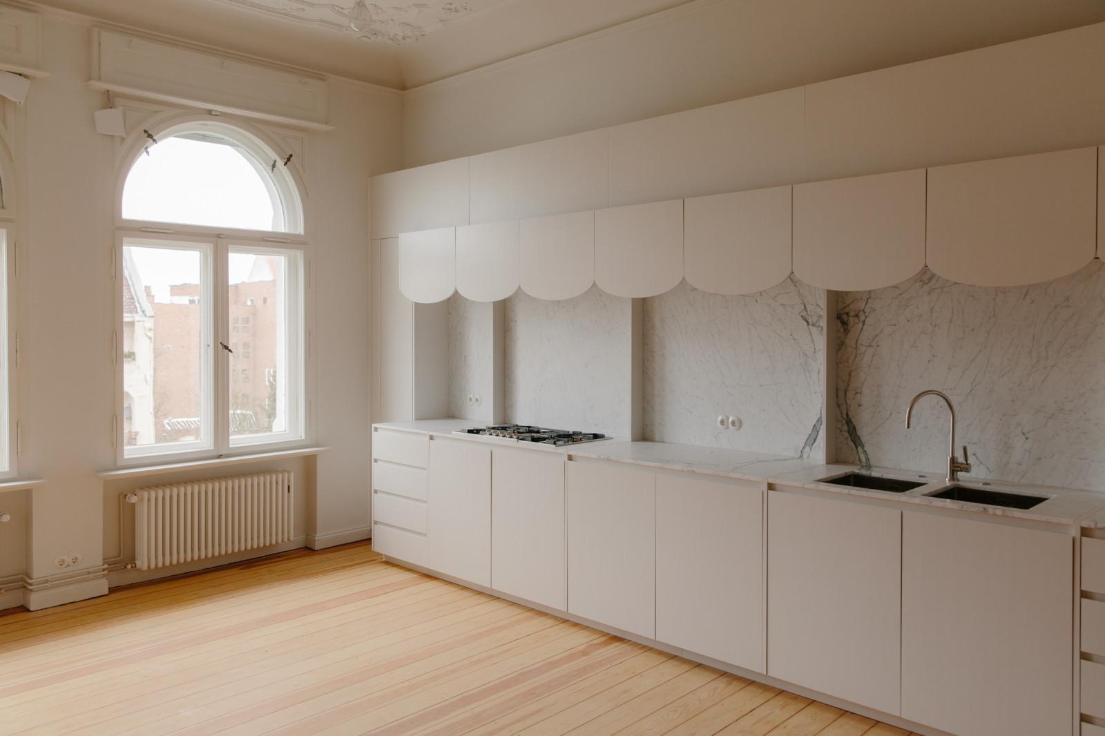 Kitchen (private apartment), Berlin 2016 Photo: Felix Brüggemann