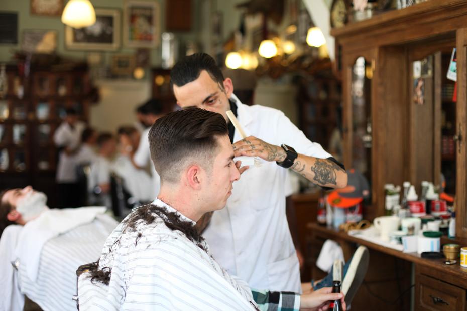 fvf explores: the schorem haarsnijder en barbier in rotterdam