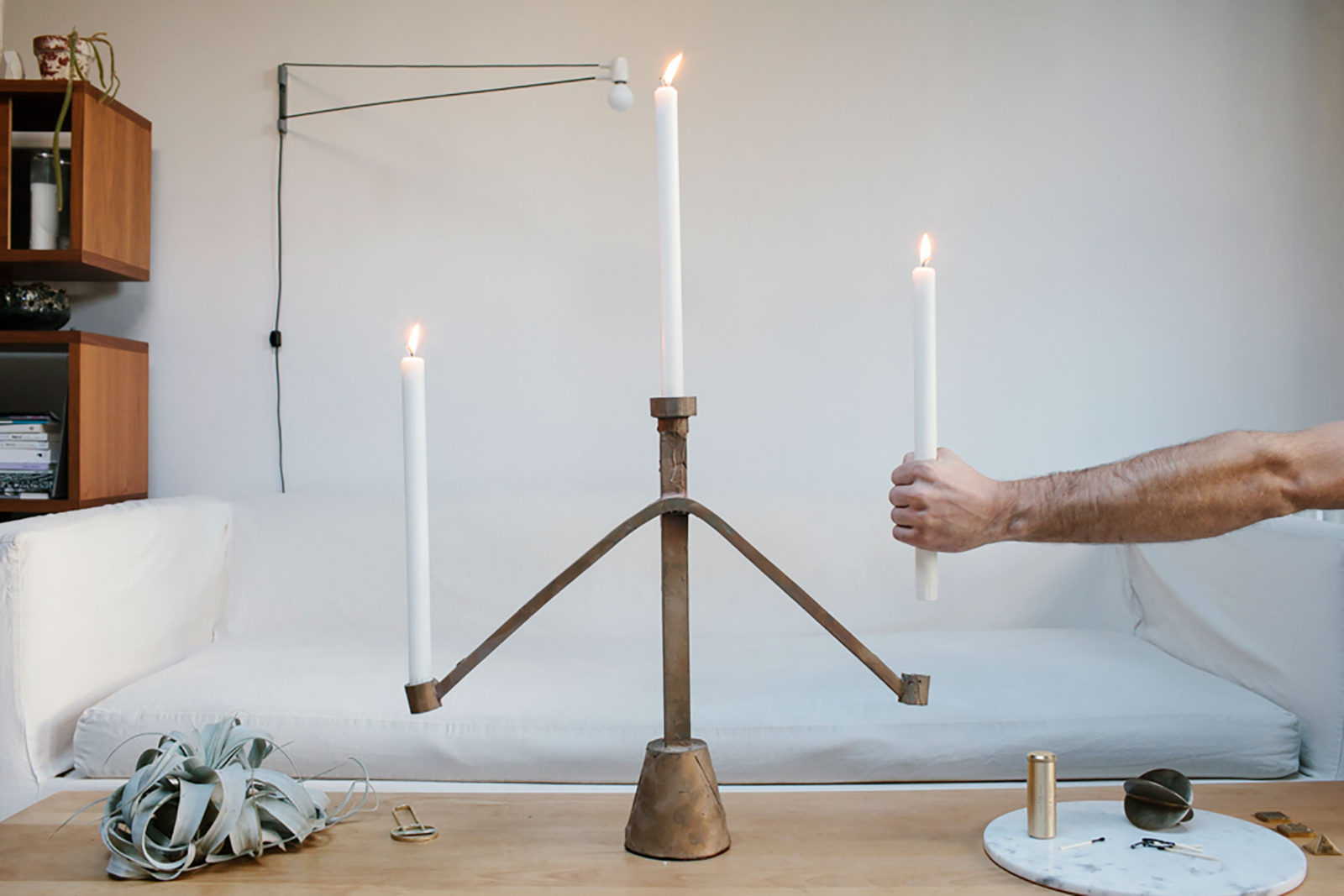 Sprue Candelabras - Photo: Brian Ferry