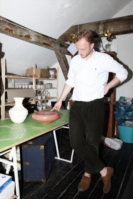 Freunde von Freunden — Gunnar Rönsch & Stephen Molloy — Architects & Product Designers, Apartment & Studio, Mitte, Berlin  — http://www.freundevonfreunden.com/interviews/gunnar-ronsch-stephen-molloy/