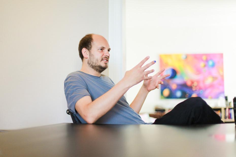 """Freunde von Freunden — Heinz """"Cookie"""" Gindullis — Club Owner & Entrepreneur, Apartment, Mitte, Berlin — http://www.freundevonfreunden.com/interviews/heinz-cookie-gindullis/"""