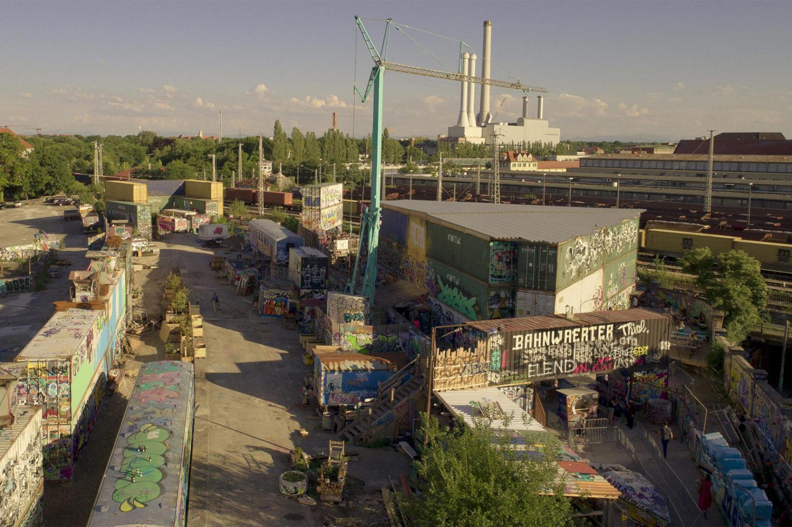Bahnwärter Thiel, Munich – A popular cultural off-space instigated by Daniel Hahn