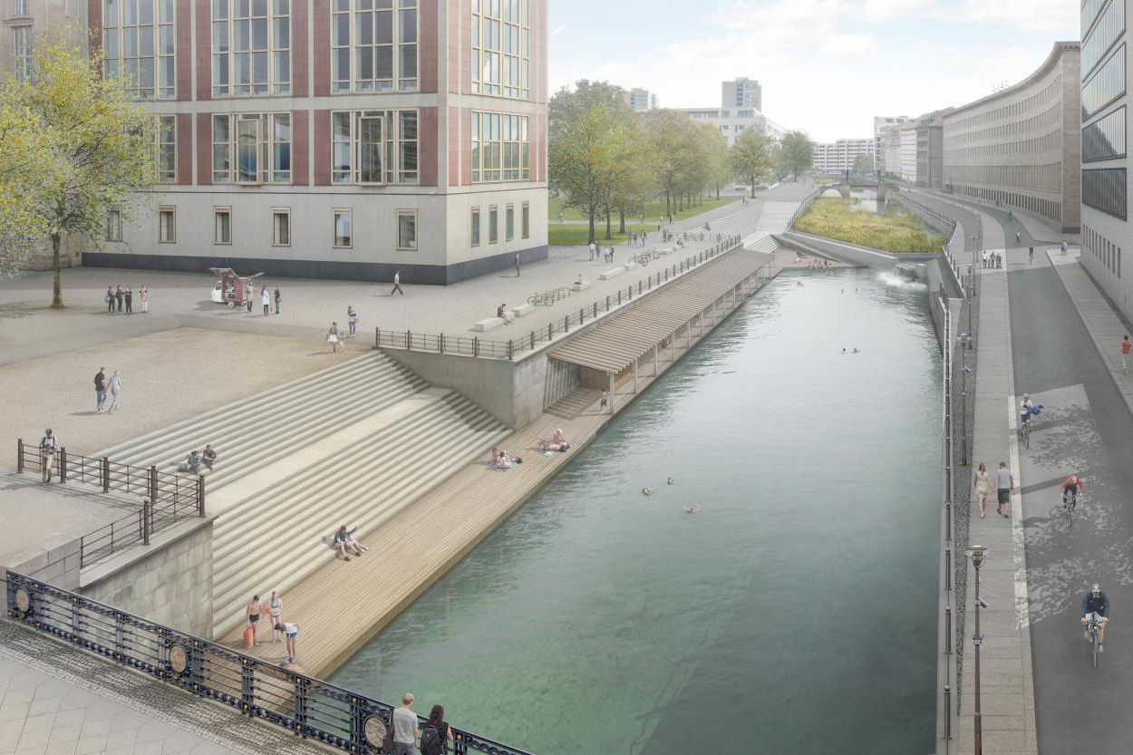 Flussbad Berlin – A public initiative to turn a canal in Berlin's historic center into a public bath