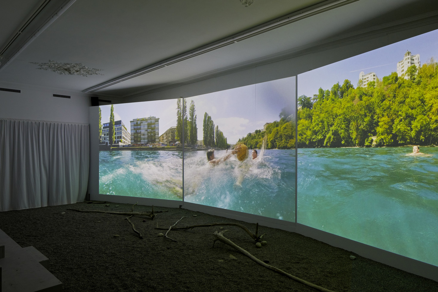 Swim City (2019) – An exhibition curated by Andreas Ruby about river swimming as an urban movement