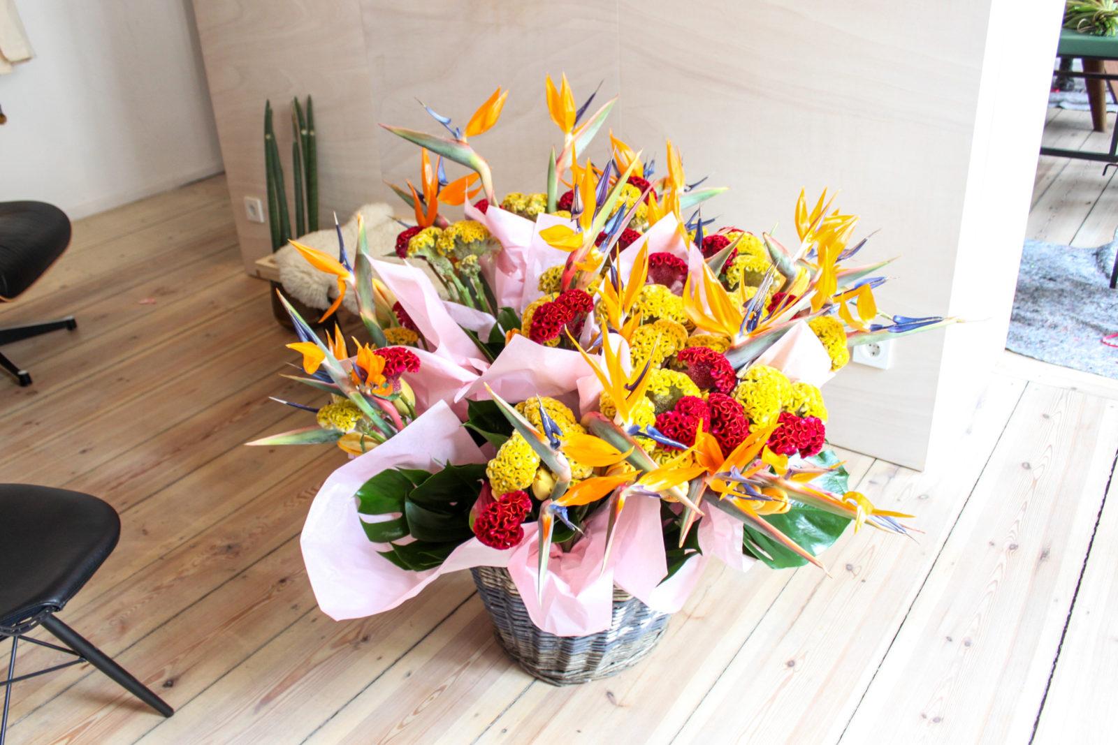 Marsano flower workshop at the FvF Apartment