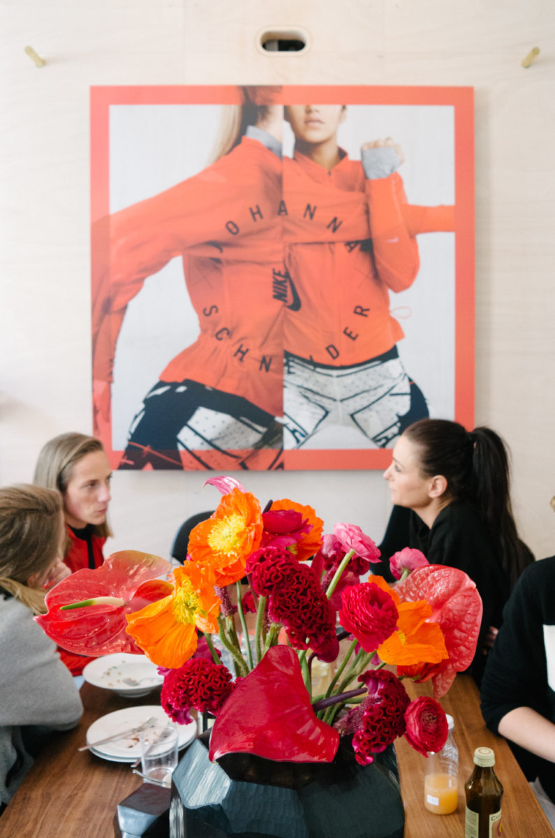 Nike x Johanna Schneider at the FvF Apartment