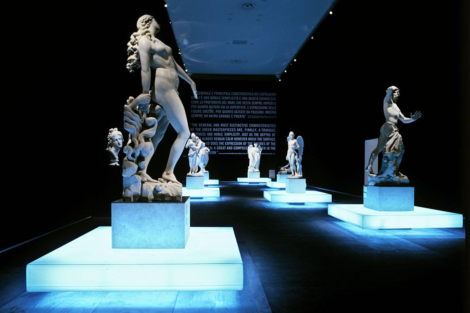 Canova, Bassano del Grappa, Italy  Exhibition Design.