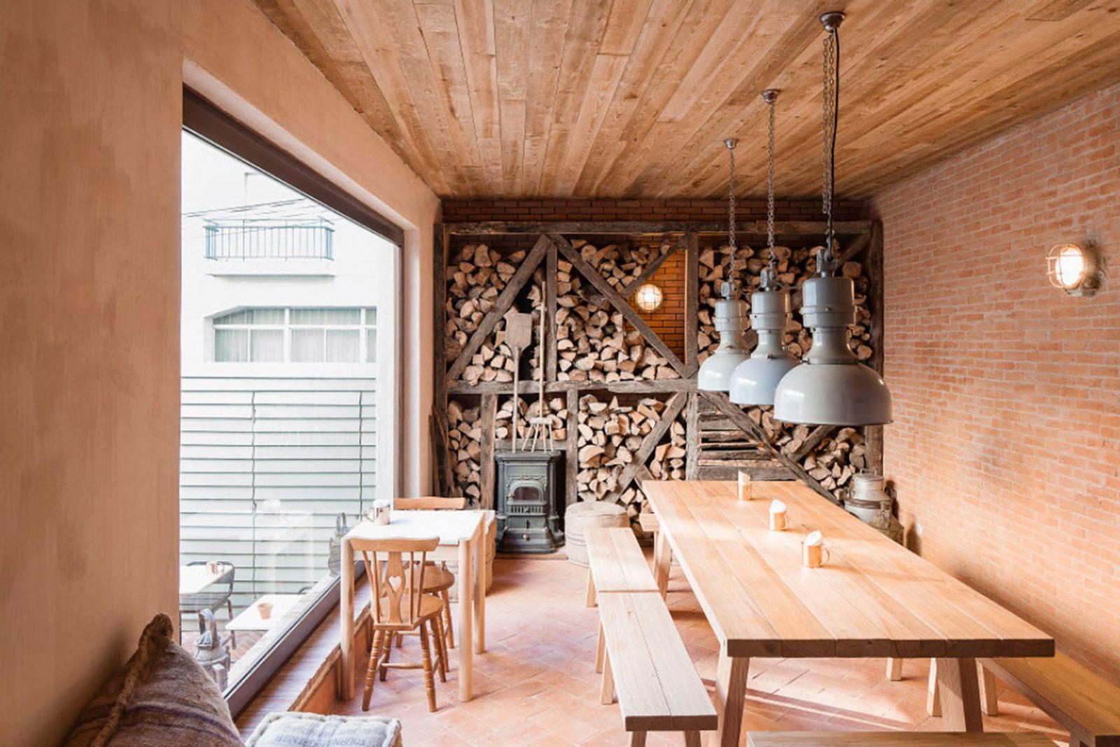 A Padaria Portuguese Bakery Interior Design.