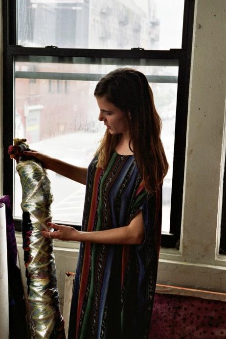 Freunde von Freunden — Isabel Wilson — Textile Designer, Apartment & Studio, Williamsburg, New York — http://www.freundevonfreunden.com/interviews/isabel-wilson/