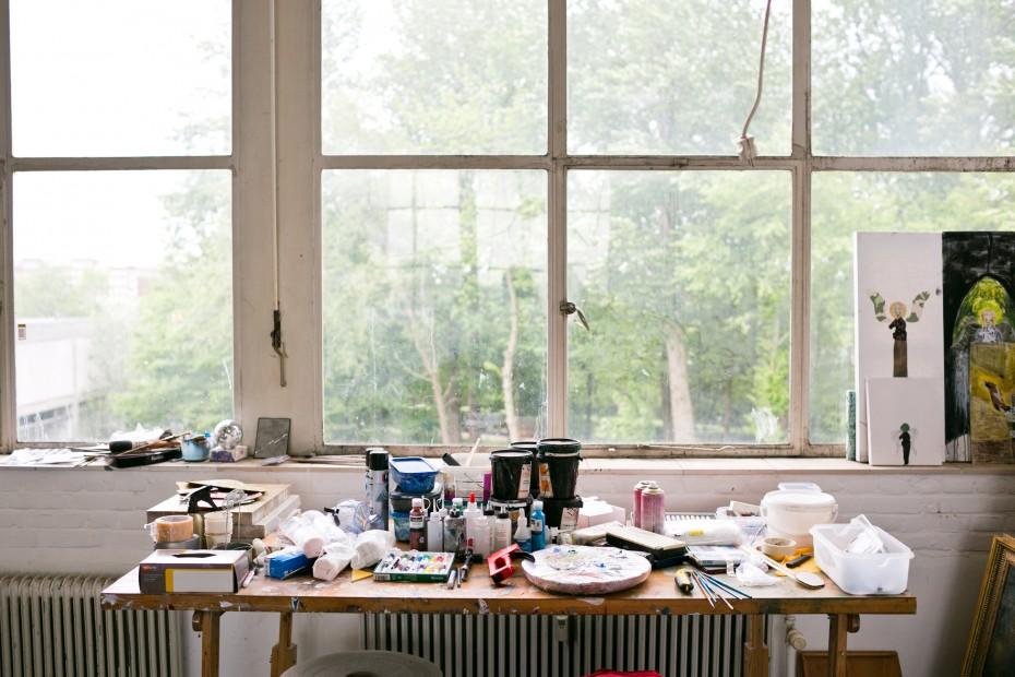 Freunde von Freunden — Itamar Gilboa — Artist, Studio, Amsterdam, Netherlands — http://www.freundevonfreunden.com/workplaces/itamar-gilboa/