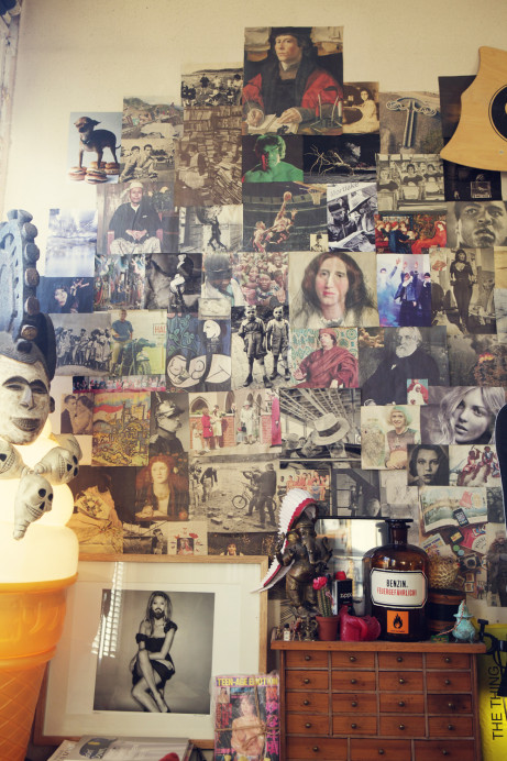 Freunde von Freunden — Jamie Brunskill — Creative Director, Artist & Photographer, Apartment, Hackney, London — http://www.freundevonfreunden.com/interviews/jamie-brunskill/