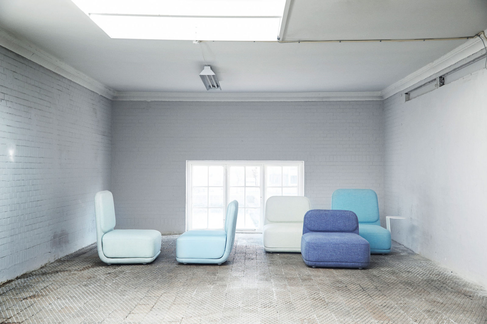 Stand by Sofa designed for Softline.