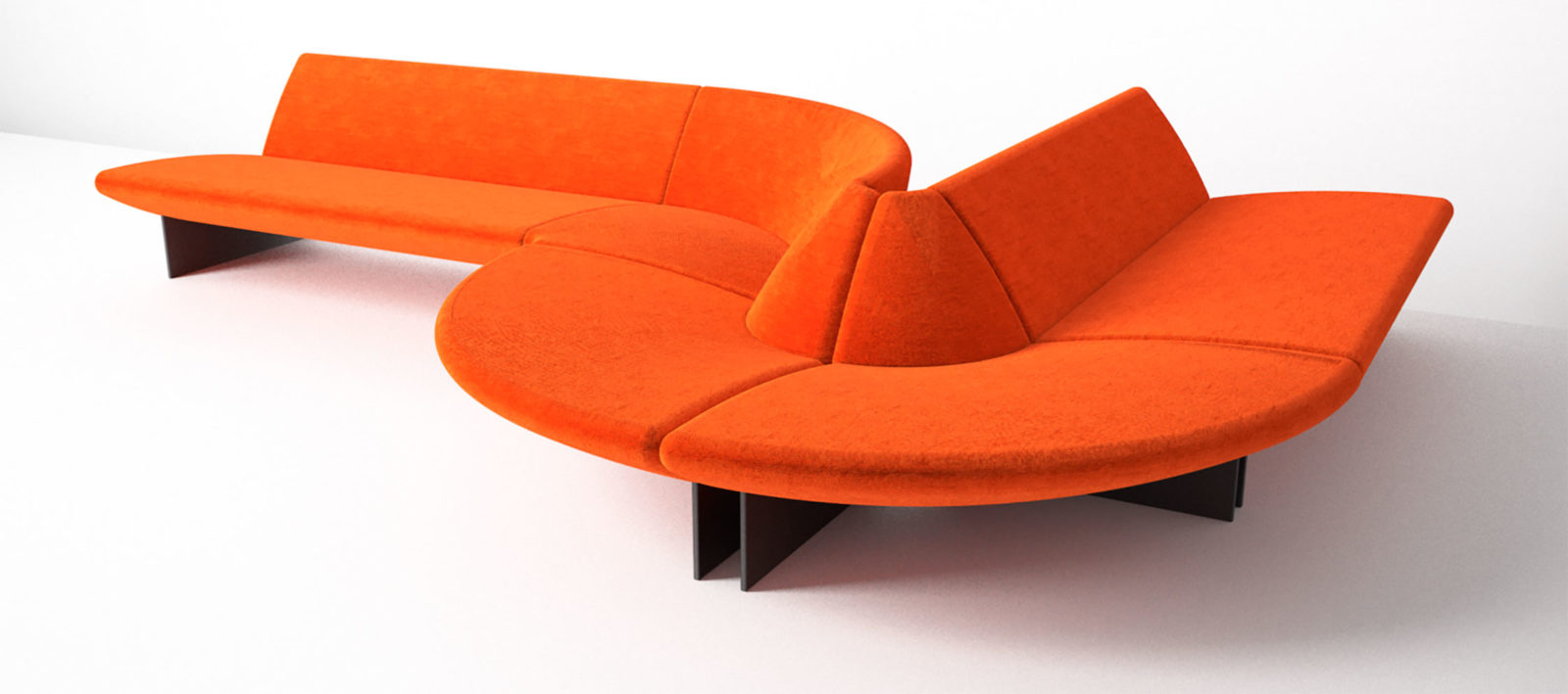 Serpentine Sectional for Moroso