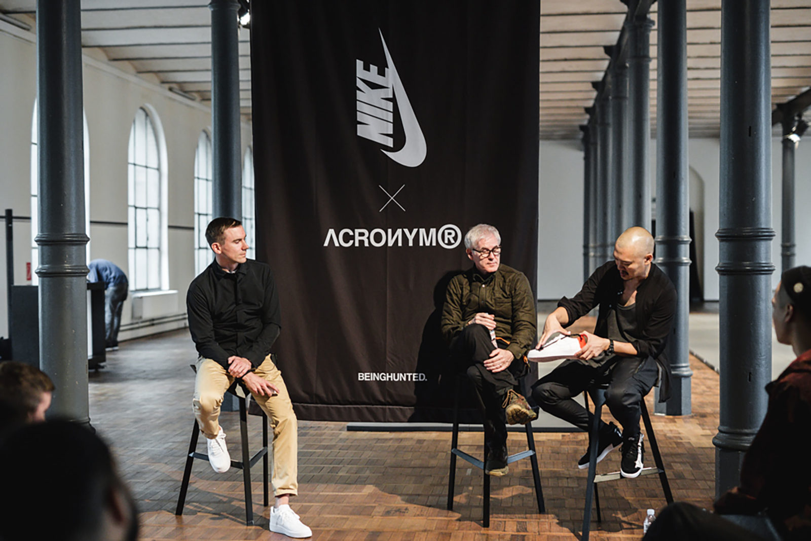 NikeLab x ACRONYM LF1-ACR (expert talk with Fraser Cooke and Errolson Hugh for the global launch in Berlin)