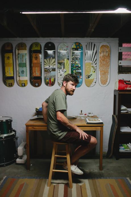 Freunde von Freunden — John & Jen Vitale — Skateboard Designer & Stylist, House, North Portland, Portland — http://www.freundevonfreunden.com/interviews/john-jen-vitale/