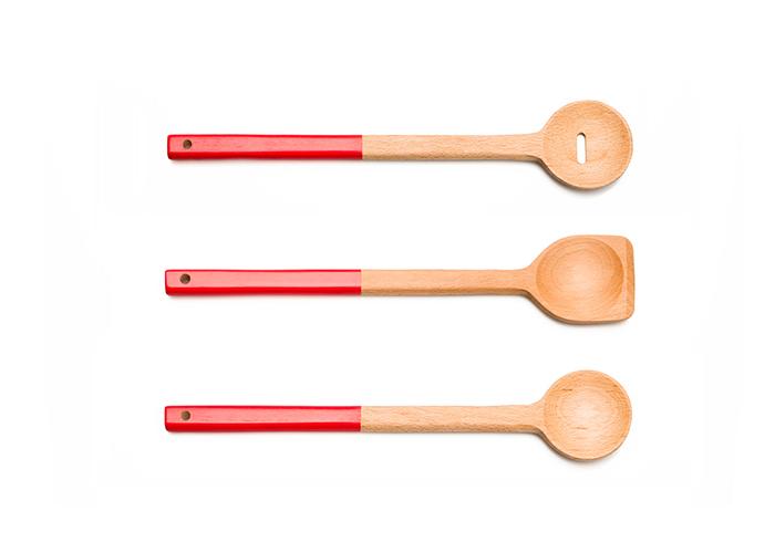 Spoon Set, Designed for Kikkerland, Inc.