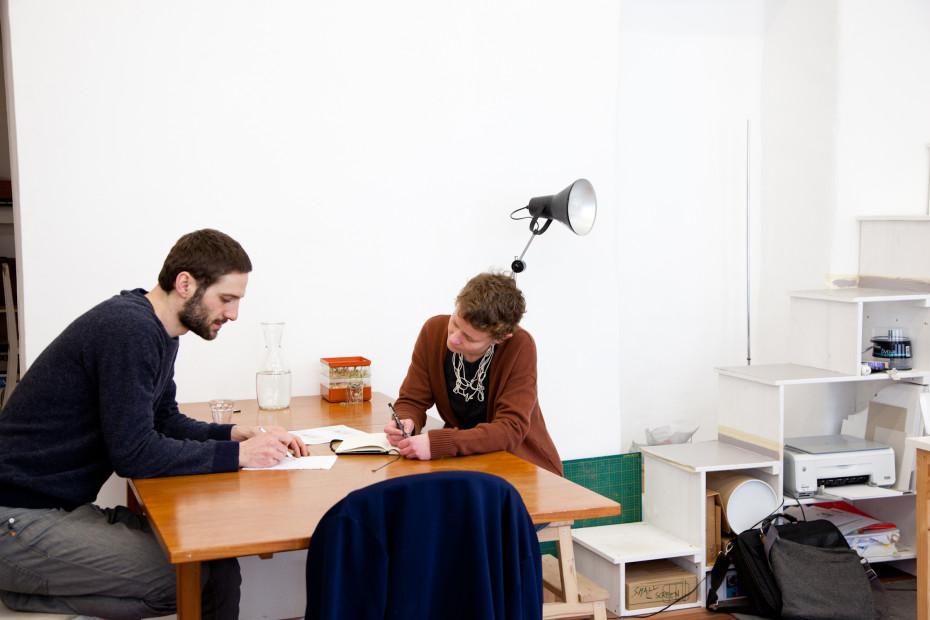 Freunde von Freunden — Katharina Mischer & Thomas Traxler — Designer , Apartment & Studio, Rudolfsheim-Fünfhaus, Vienna — http://www.freundevonfreunden.com/workplaces/katharina-mischer-thomas-traxler/