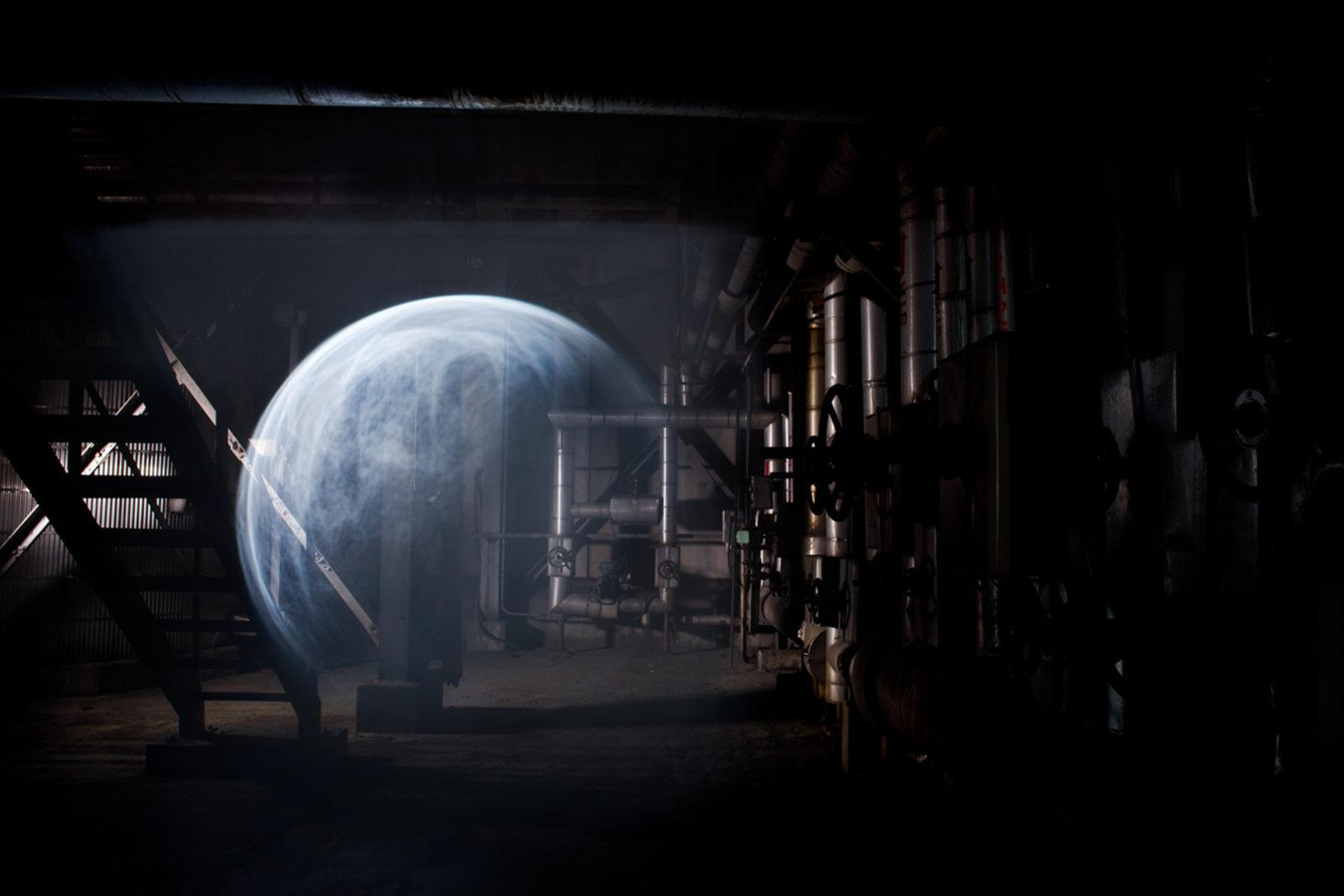 "(EN) ""Lunar Surface"" (2014) – Artspace Geumcheon, Seoul, Korea"