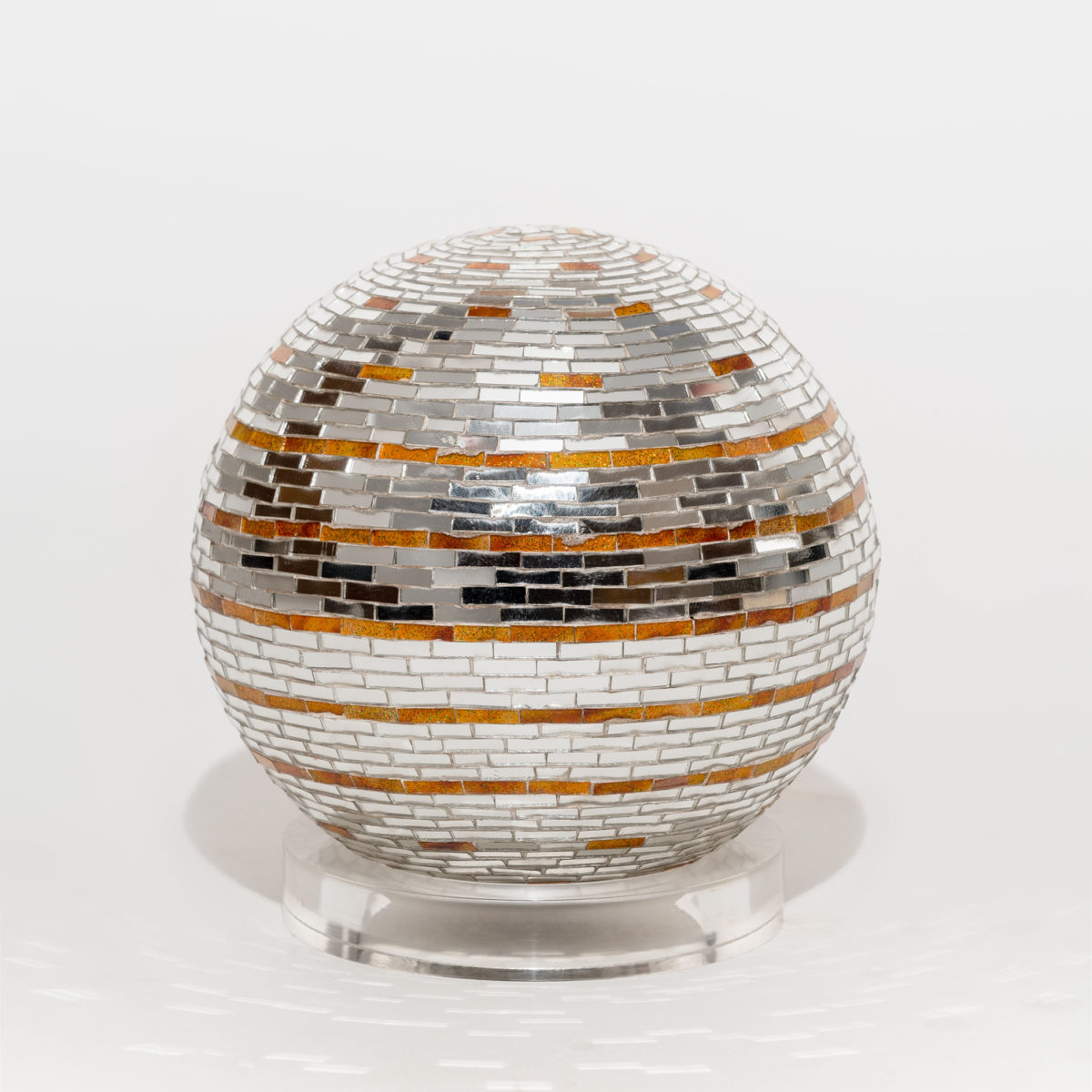 'Mirrored sphere' by Monir Farmanfarmaian.