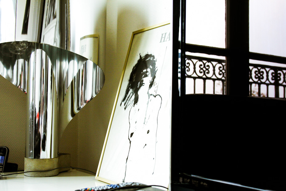 Freunde von Freunden — (English) Linda Bujoli — Photographer, Artist, Apartment, Marais, Paris  —