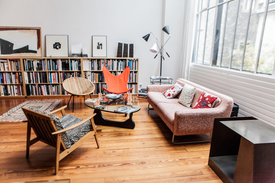 Freunde von Freunden — Louise Brody & Charles Poisay — Art Director & Architect, Apartment and Studio, 14ème arrondissement, Paris — http://www.freundevonfreunden.com/interviews/louise-brody-charles-poisay/