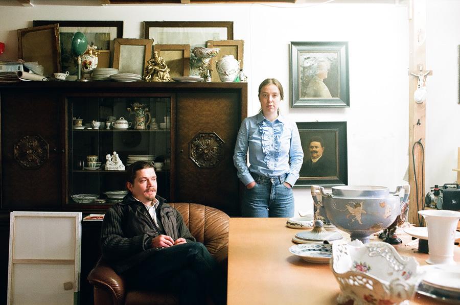 Freunde von Freunden — Marion Bataillard & Ivan Rogow — Artists, Atelier, Berlin-Moabit — http://www.freundevonfreunden.com/de/interviews/marion-bataillard-ivan-rogow/