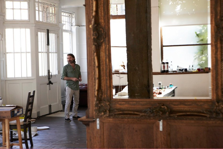 Freunde von Freunden — (English) Mat Collishaw — Artist, House and Studio, London-Camberwell —