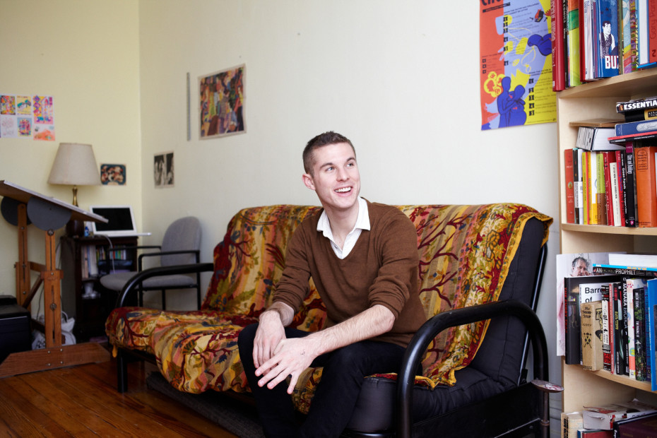 Freunde von Freunden — Matt Seneca — Graphic Novelist, Apartment, Brooklyn, New York — http://www.freundevonfreunden.com/interviews/matt-seneca/