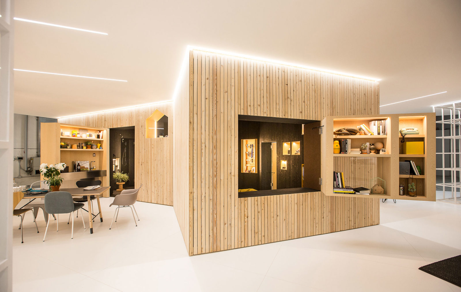A 30-square-metre apartment that forms part of a micro neighbourhood