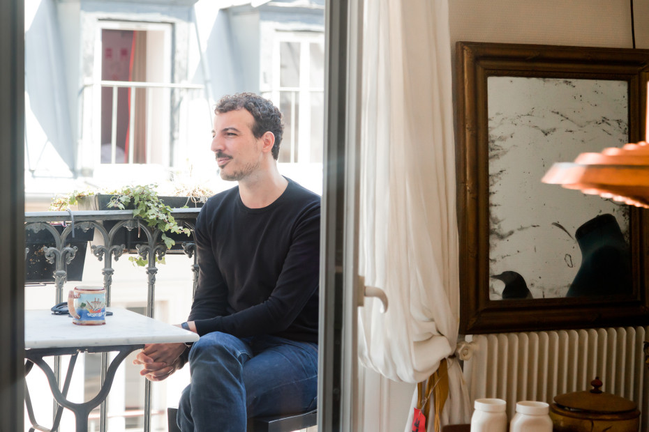 Freunde von Freunden — Nicolas Ouchenir — Calligrapher, Apartment, Office & Neighborhood, 10th Arrondissement & 1st Arrondissement, Paris — http://www.freundevonfreunden.com/interviews/nicolas-ouchenir/