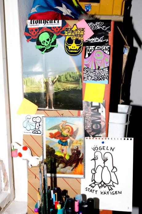 Freunde von Freunden — Nomad — Artist, Villa, Grunewald, Berlin — http://www.freundevonfreunden.com/interviews/nomad/